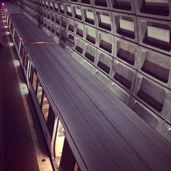 Photo taken at Pentagon City Metro Station by Jeremy J. on 1/22/2013
