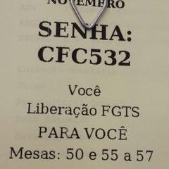 Photo taken at Caixa Econômica Cidade das Flores by Andre Luis S. on 10/13/2014