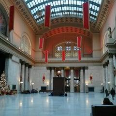 Photo taken at Chicago Union Station by Sara V. on 12/26/2012