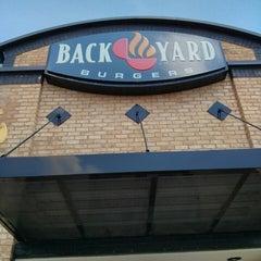 Photo taken at Backyard Burger by Peter D. on 5/29/2013