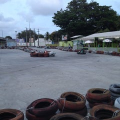 Photo taken at GKI Kart by Rodrigo D. on 12/8/2012