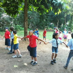 Photo taken at Parque Recanto do Trovador by Livia F. on 6/9/2013
