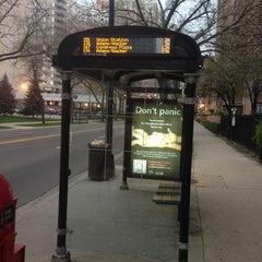 Photo taken at CTA Bus Stop 1037 by Brad H. on 5/6/2013