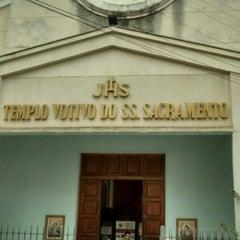 Photo taken at Templo Votivo do Santíssimo Sacramento by Edgard G. on 2/29/2016