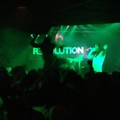 Photo taken at Revolution Bar & Music Hall by Emily M. on 12/31/2012