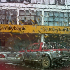 Photo taken at Maybank by Teya on 12/3/2012