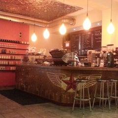 Photo taken at Dark Horse Espresso Bar by Jesse F. on 12/30/2012