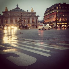 Photo taken at Place de l'Opéra by Marina K. on 3/11/2013