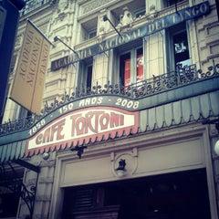 Photo taken at Gran Café Tortoni by Alana P. on 2/13/2013