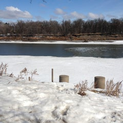 Photo taken at St. Vital Park by Cathy J. on 4/13/2013