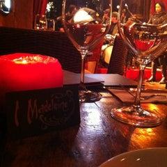 Photo taken at Madeleine Bar by Rosana W. on 10/14/2012