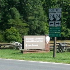 Photo taken at Appomattox Court House National Historical Park by Katie B. on 6/29/2013