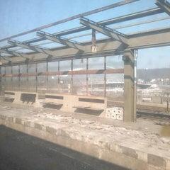 Photo taken at Železniční stanice Praha-Holešovice by Kurvitko on 3/16/2013