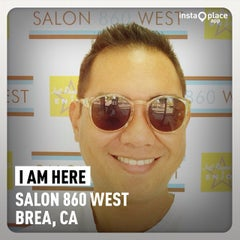 Photo taken at Salon 860 West by Onassis Y. on 8/26/2014