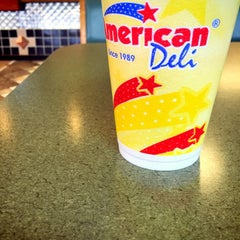 Photo taken at American Deli by TJ on 11/1/2014