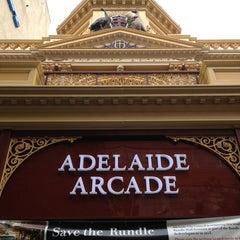 Photo taken at Adelaide Arcade by Karim on 2/1/2013