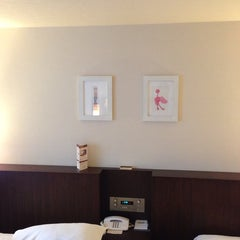 Photo taken at ホテル ガーデンスクエア静岡 by おとうぽん on 5/31/2014