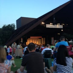 Photo taken at Miller Outdoor Theatre by Tara on 6/30/2013