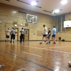 Photo taken at Seward Park High School Gym by Michael T. on 3/15/2013