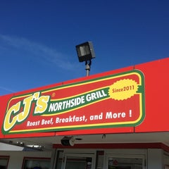 Photo taken at CJ's Northside Grill by Charlie P. on 9/26/2014