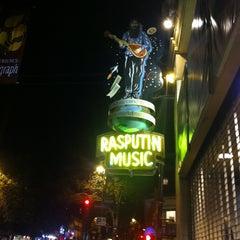 Photo taken at Rasputin Music by Michael V. on 10/19/2012
