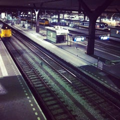 Photo taken at Station Rotterdam Centraal by Marga J. on 1/27/2013