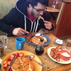 Photo taken at Sunflower Diner by Arush S. on 2/20/2013