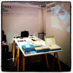 Photo taken at NYIGF New York International Gift Fair by LOST WAX S. on 2/2/2014