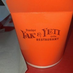 Photo taken at Yak & Yeti Local Foods Cafe by R. on 2/4/2013