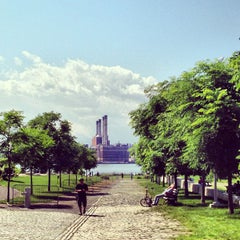 Photo taken at Williamsburg Waterfront by Noah F. on 6/14/2013