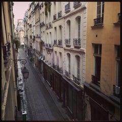 Photo taken at Rue Saint-Sauveur by Anne-Marie C. on 9/29/2013