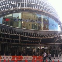 Photo taken at Birmingham New Street Railway Station (BHM) by James Arthur C. on 5/5/2013