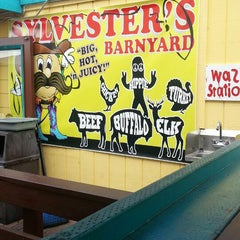 Photo taken at Sylvesters Burgers by Beedie S. on 3/30/2013