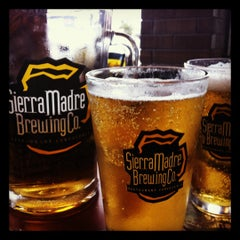 Photo taken at Sierra Madre Brewing Co. by Rambaldo C. on 9/27/2012