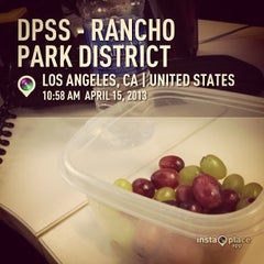 Photo taken at Rancho Park DPSS by Tolitz R. on 4/15/2013