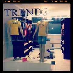 Photo taken at Trends Store by Flavio B. on 2/25/2013