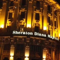 Photo taken at Sheraton Diana Majestic by George G. on 3/7/2013