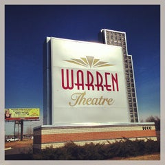Photo taken at Warren Theatre by Robert T. on 2/14/2013