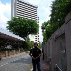 Photo taken at Bank Negara Malaysia by Semutar H. on 5/27/2015