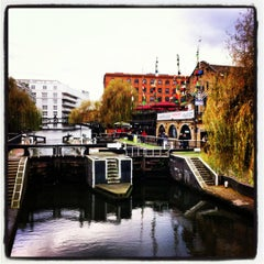 Photo taken at Camden Town by Samiznaete K. on 12/9/2012