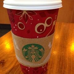 Photo taken at Starbucks by Gokcen B. on 12/11/2013