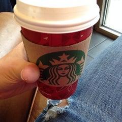 Photo taken at Starbucks by Gokcen B. on 1/9/2014