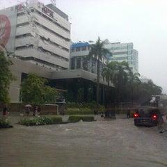 Photo taken at Jalan H.R. Rasuna Said by Nadya A. on 1/17/2013