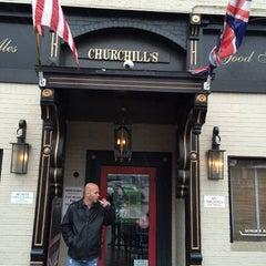 Photo taken at Churchills Pub by Harrison on 3/3/2015