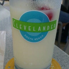 Photo taken at Clevelander by Erica B. on 10/13/2012