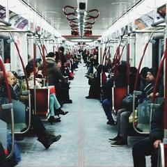 Photo taken at Dundas Subway Station by Kanwar S. on 2/21/2013