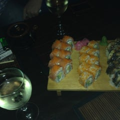 Photo taken at Sake Sushi Bar by Svitlana on 5/12/2013