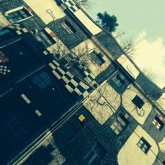 Photo taken at KUNST HAUS WIEN. Museum Hundertwasser by Cezary Z. on 1/12/2014