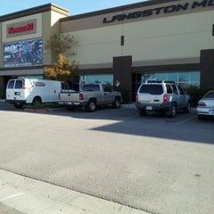 Photo taken at Langston Motorsports by Alicia B. on 12/9/2012