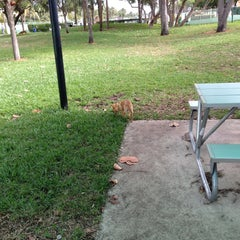 Photo taken at Waterways Dog Park by Maria A. on 1/1/2013